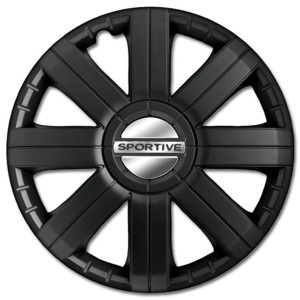Sportive Pro Black 15 (1 Set = 4 Pieces)