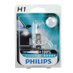 PHILIPS Xtreme Vision H1 +100% Einzelblister