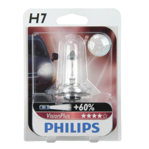 PHILIPS H7 Vision Plus 1er Blister