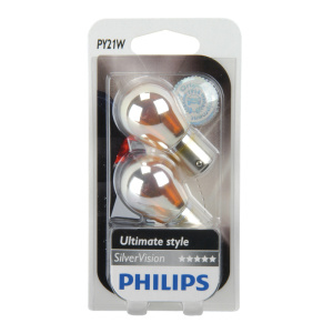 PHILIPS PY21W 12V SilverVision 2erBlister