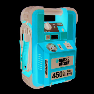 Batteri booster  450A & Kompressor 8 bar