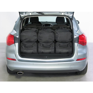 Opel Astra J Sports Tourer 2010-2016 Car-Bags Set De Sacs De Voyage