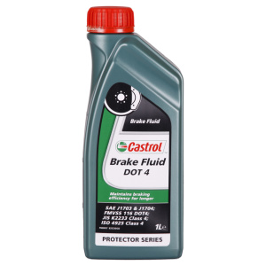 Brake Fluid DOT 4 - 1 ltr Lattina