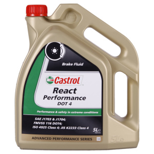 REACT Performance DOT 4 - 5 ltr Can