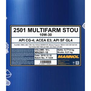 Mannol Multifarm STOU 10W-30