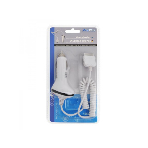 Caricabatterie usb auto 12V/24V per iPhone/iPod