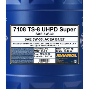 Mannol TS-8 UHPD 5W-30 Super