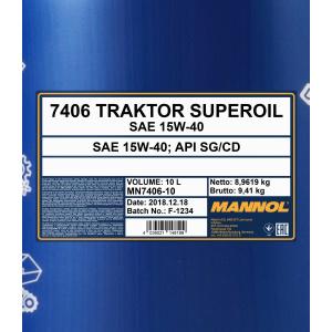 Mannol Traktor Superoil 15W-40