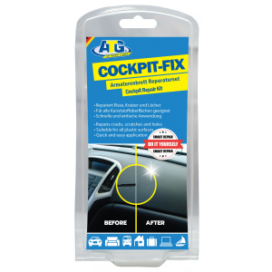 ATG Dashboard Repair Kit – Cockpit Scratch Removal made easy 16 Piece Set for Any Car.