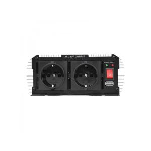 Spannungswandler 12V-230V 600W/1200W + USB