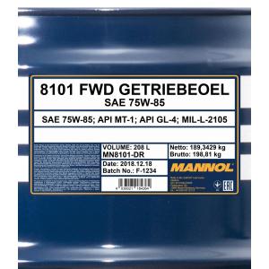 Mannol FWD 75W-85 GL-4