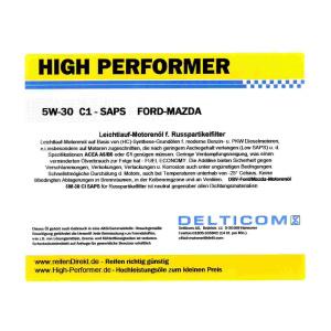 5W-30 SAPS C1 Ford+Mazda+Volvo