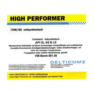 75W/90 GL4/5 TS - Getriebeöl