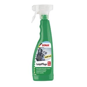 sonax-cockpit-pleier-matteffect-vanilla-fresh-500-milliliter-spray-flaske