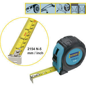 HAZET Measuring tape 2154N-5