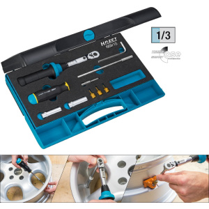 HAZET Tyre pressure control system tool set (TPMS) 669/10 . Hexagon, hollow 6.3 (1/4 inch), Square, solid 6.3 mm (1/4 inch) . Number of tools: 10