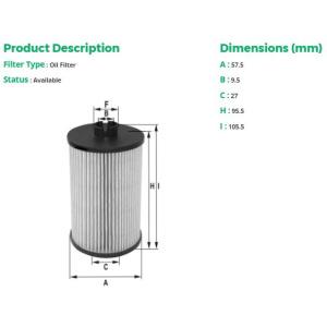 fil filter filtre huile moteur mle 1513 filtre huile pi ces auto at. Black Bedroom Furniture Sets. Home Design Ideas