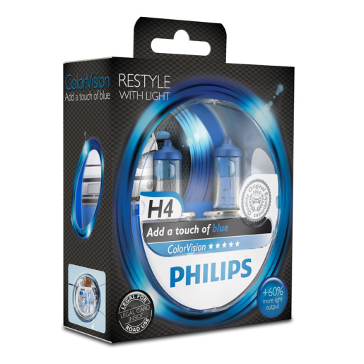 PHILIPS ColorVision H4 blau