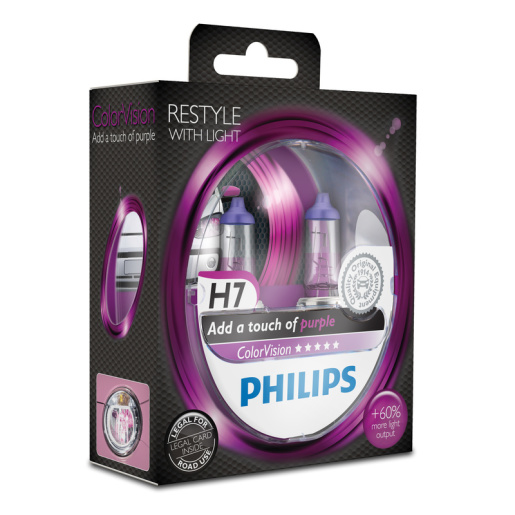 PHILIPS ColorVision H7 pink