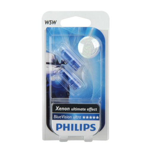 PHILIPS W5W 12V BlueVision 2er Blister