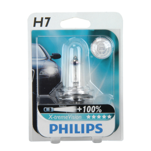 PHILIPS Xtreme Vision H7 +100% Einzelblister