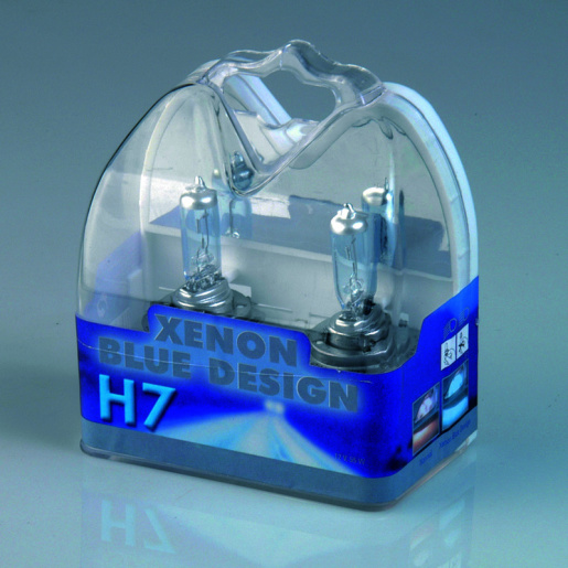 H7 Xenon BlueDesign 12V 55W