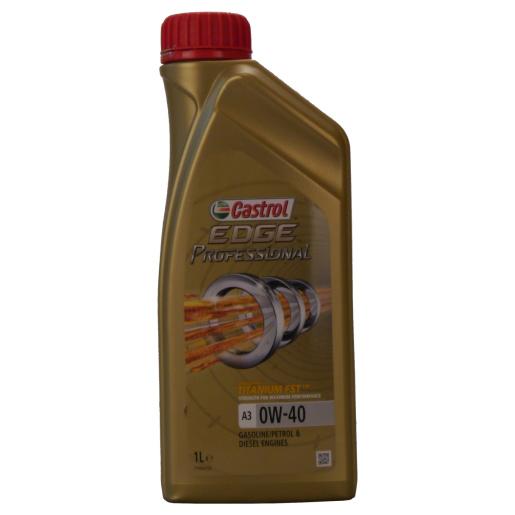 EDGE Professional Titanium FST A3 0W-40