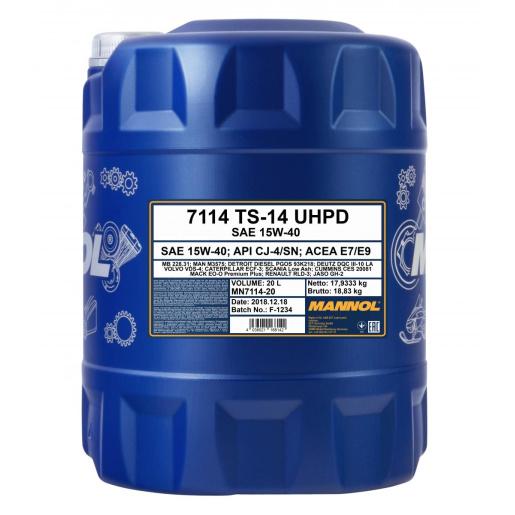 Mannol TS-14 UHPD 15W-40