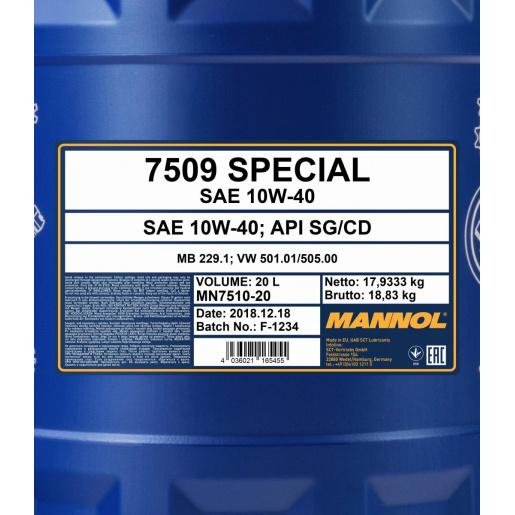 Mannol Favorit 15W-50