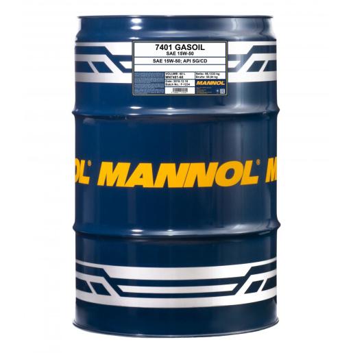 Mannol Gasoil 15W-50