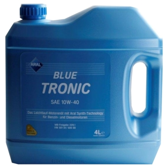 Image of Aral BlueTronic 10W-40 4 liter kan