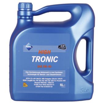 Aral HighTronic 5W 40 5 liter kan