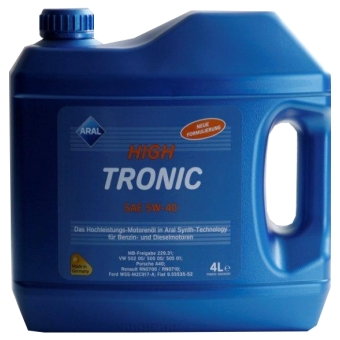 Image of Aral HighTronic 5W-40 4 liter kan