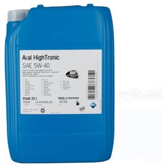 Image of Aral HighTronic 5W-40 20 liter bidon