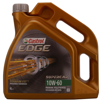 Image of Castrol EDGE Supercar 10W-60 4 liter kan
