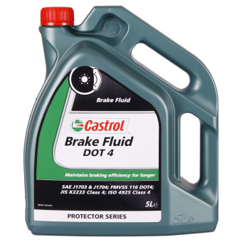 Image of Castrol Brake Fluid DOT 4 5 liter kan