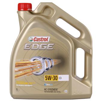 Image of Castrol EDGE Titanium FST 5W-30 C3 5 liter kan