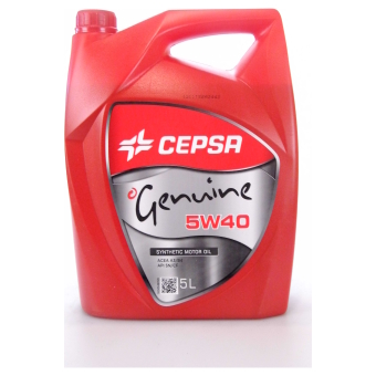 Image of Cepsa Genuine 5W-40 5 liter doos