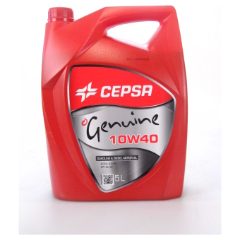 Image of Cepsa Genuine 10W-40 5 liter doos