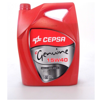 Image of Cepsa Genuine 15W-40 5 liter doos