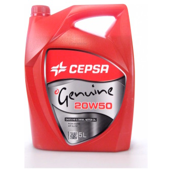 Image of Cepsa Genuine 20W-50 5 liter doos