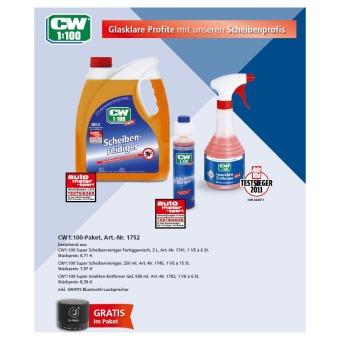 CW1:100 Paket (Scheiben- und Insektenreiniger plus Gratis Zugabe)