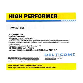 5W-40 PDI Diesel