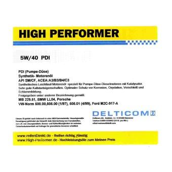 5W-40 PDI Diesel 20 Liter Kanister