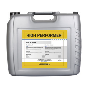 Gear Oil 80W-90 Huile à engrenages