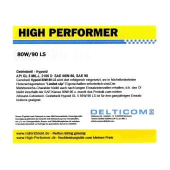80W-90 GL5 liquido per trasmissioni Hypoid