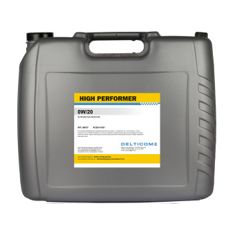 High Performer 0W-20 20 Litres Bidon
