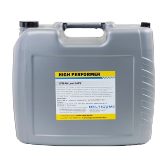 10W-40 Low SAPS Commercial Vehicles Engine Oil