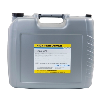15W-40 SHPD Commercial vehicle all season oil