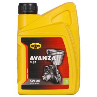 AVANZA MSP 5W-30 olio lubrificante